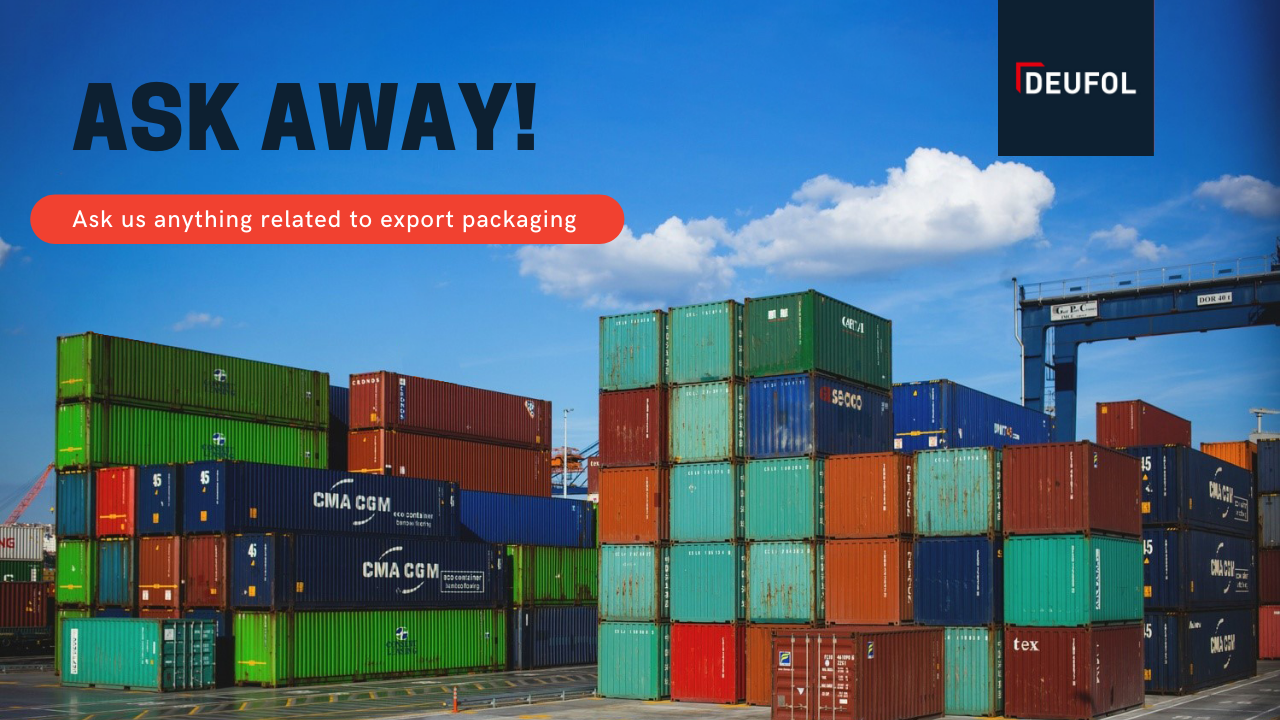 Ask me anything related to export packaging